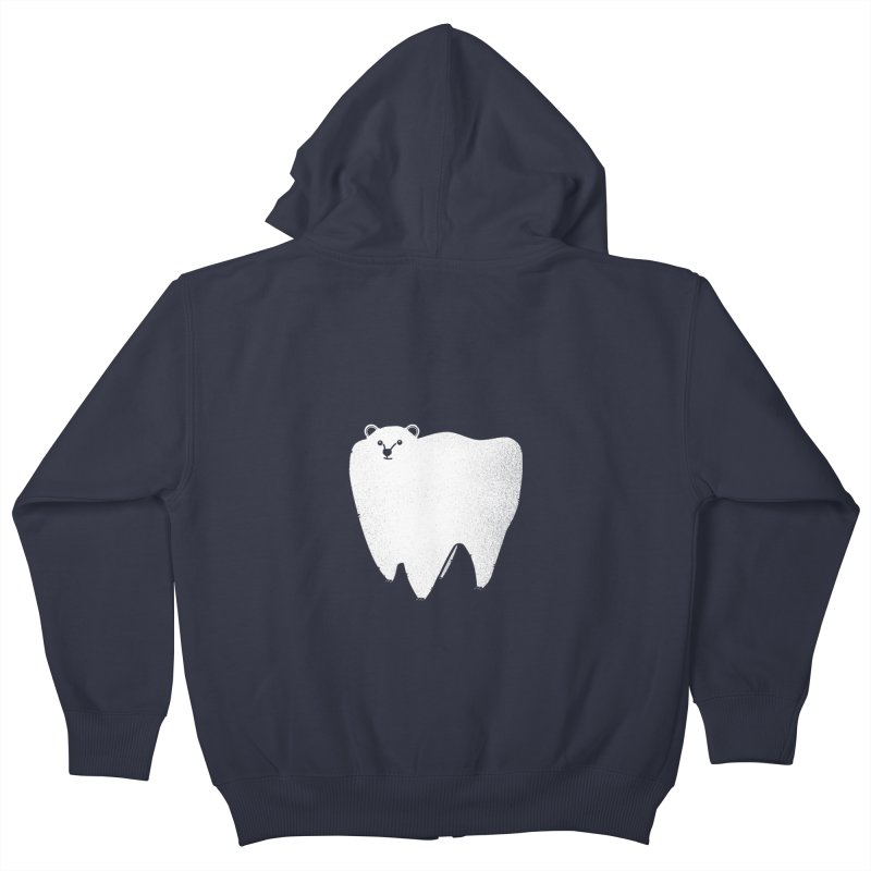 Molar Bear Kids Zip-Up Hoody by coyotealert