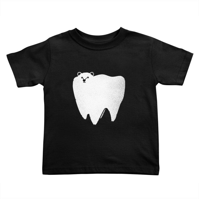 Molar Bear Kids Toddler T-Shirt by coyotealert