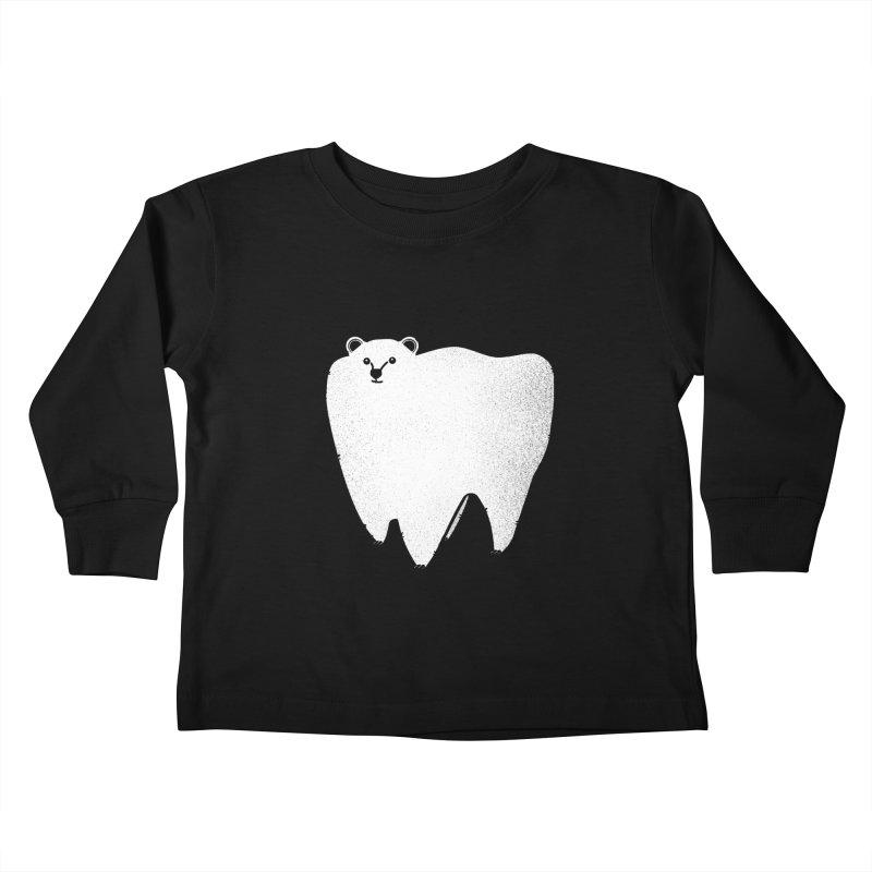 Molar Bear Kids Toddler Longsleeve T-Shirt by coyotealert