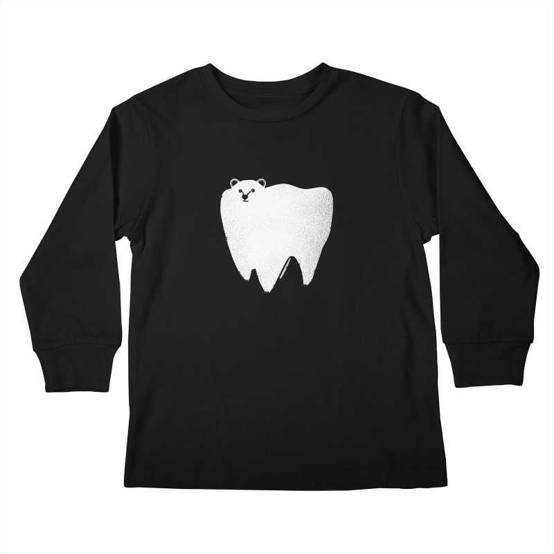 Molar Bear Kids Longsleeve T-Shirt by coyotealert