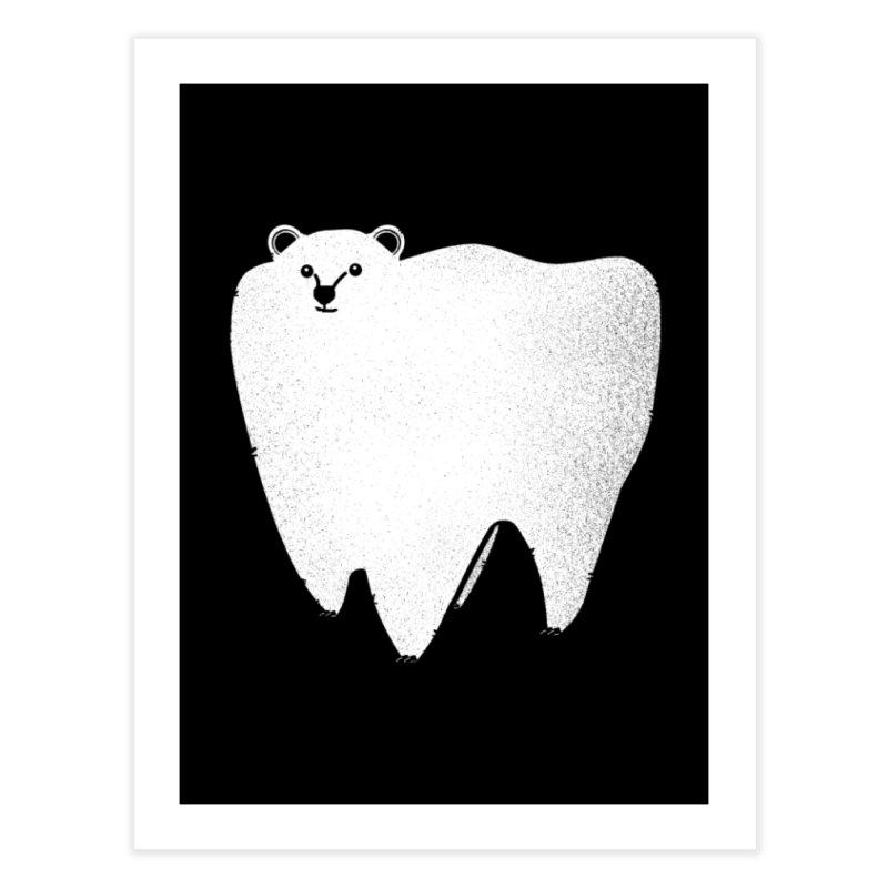 Molar Bear Home Fine Art Print by coyotealert
