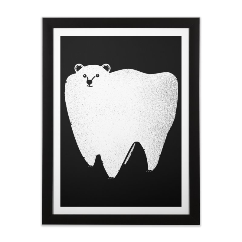 Molar Bear Home Framed Fine Art Print by coyotealert