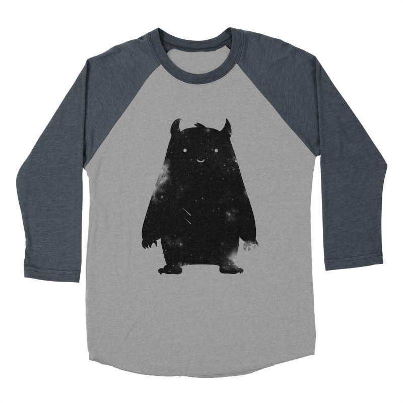 Mr. Cosmos Men's Baseball Triblend Longsleeve T-Shirt by coyotealert
