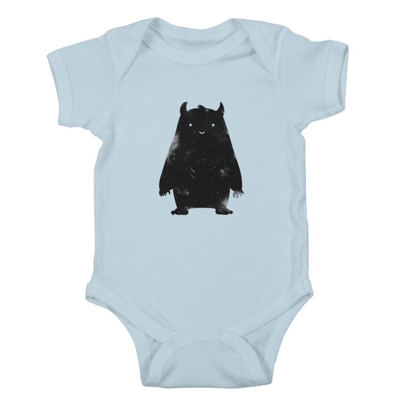 Mr. Cosmos Kids Baby Bodysuit by coyotealert