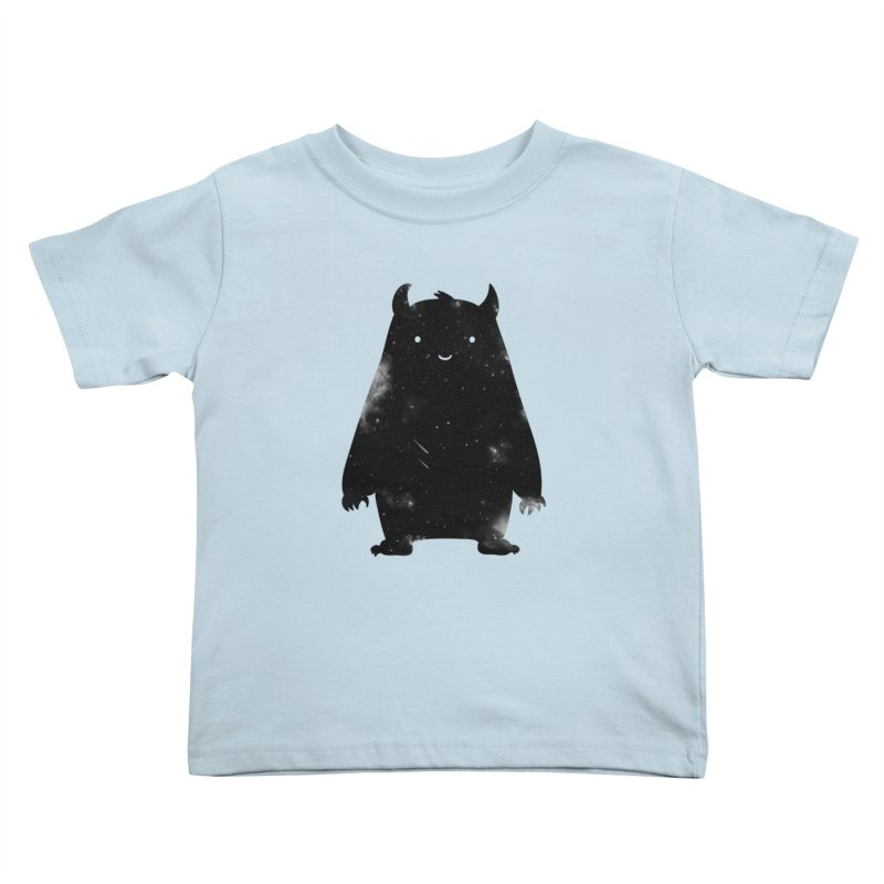 Mr. Cosmos Kids Toddler T-Shirt by coyotealert