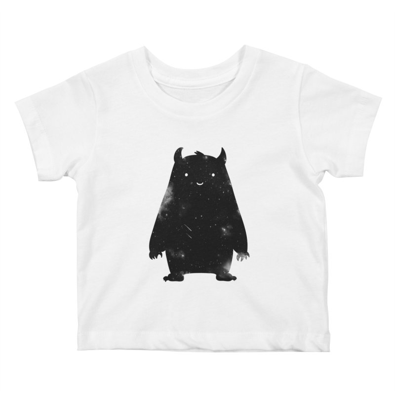 Mr. Cosmos Kids Baby T-Shirt by coyotealert