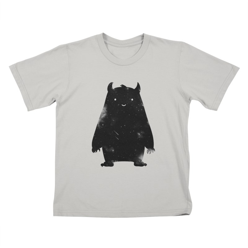 Mr. Cosmos Kids T-shirt by coyotealert