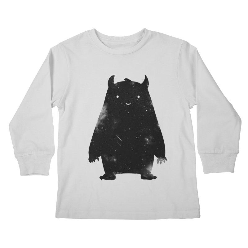 Mr. Cosmos Kids Longsleeve T-Shirt by coyotealert
