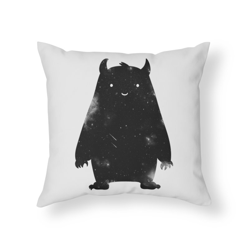 Mr. Cosmos Home Throw Pillow by coyotealert
