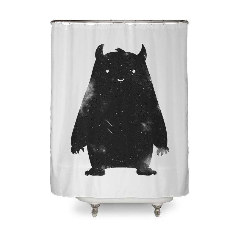 Mr. Cosmos Home Shower Curtain by coyotealert