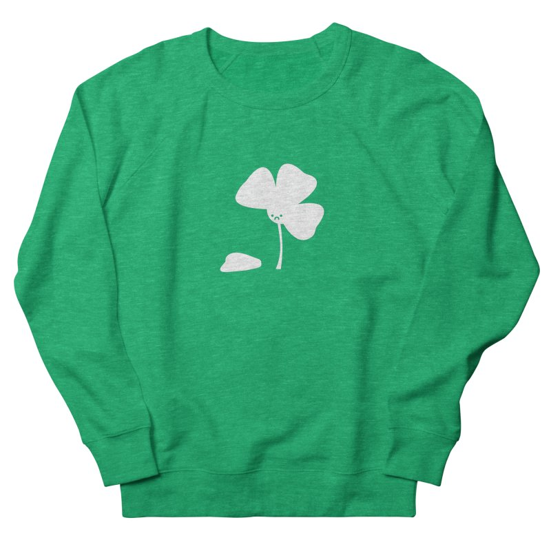 Not So Lucky Men's French Terry Sweatshirt by coyotealert