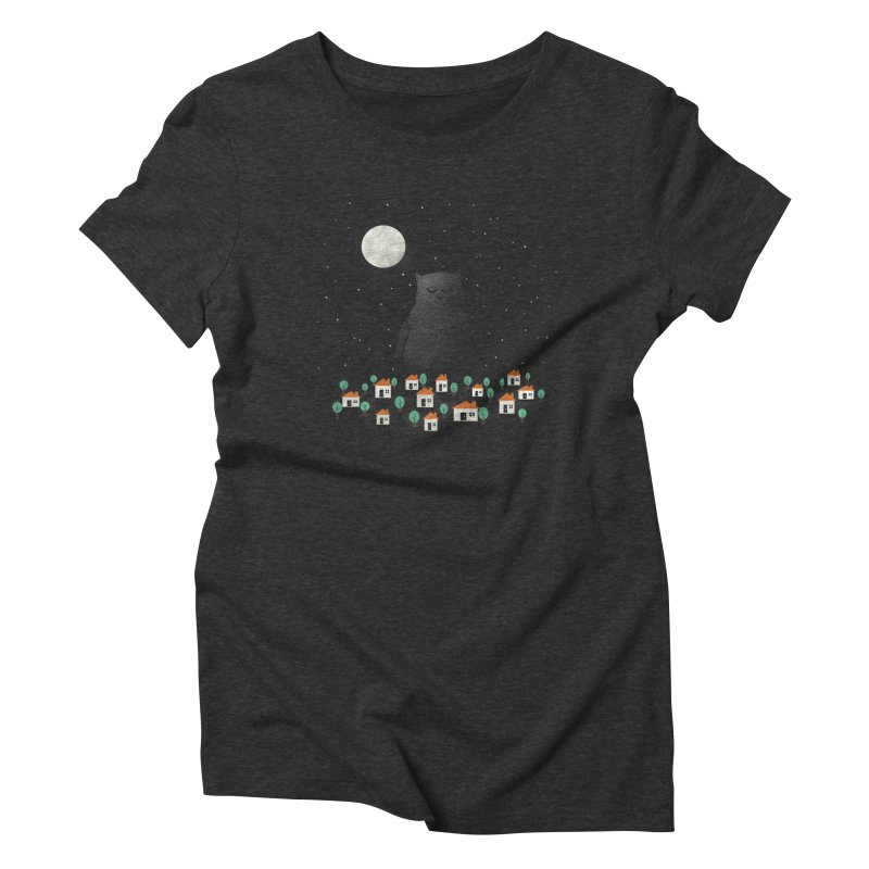 The Guardian Women's Triblend T-shirt by coyotealert