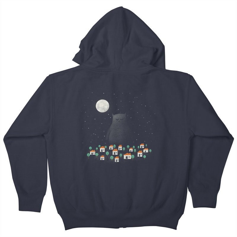 The Guardian Kids Zip-Up Hoody by coyotealert