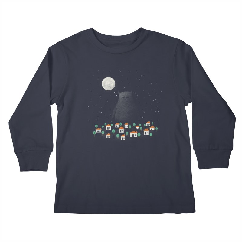 The Guardian Kids Longsleeve T-Shirt by coyotealert