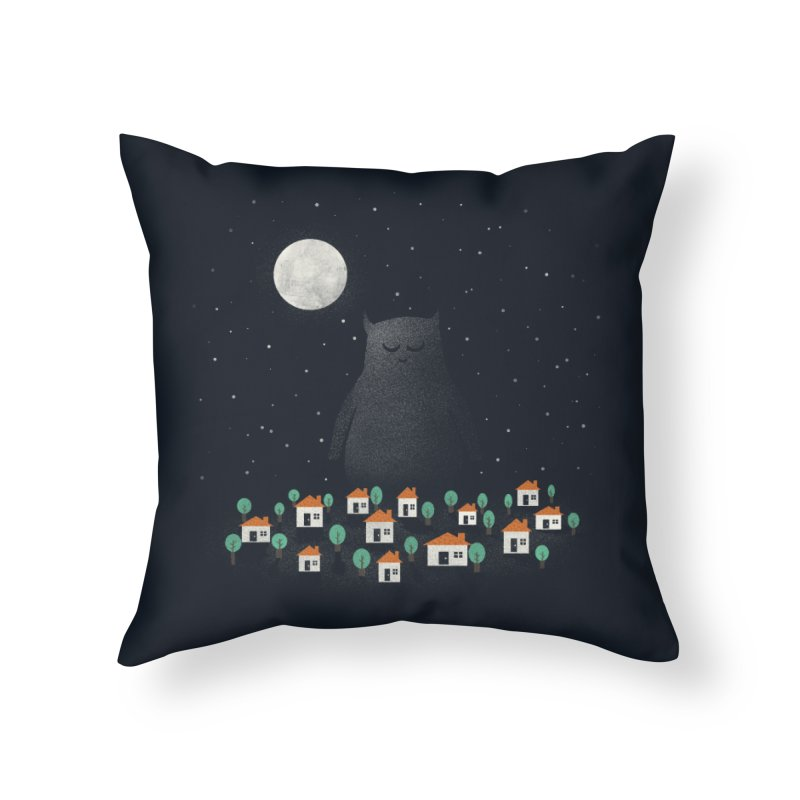 The Guardian Home Throw Pillow by coyotealert