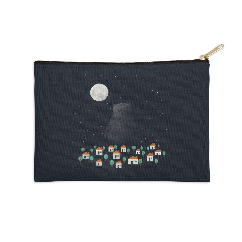 The Guardian Accessories Zip Pouch by coyotealert