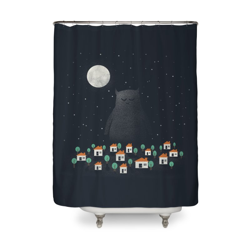 The Guardian Home Shower Curtain by coyotealert