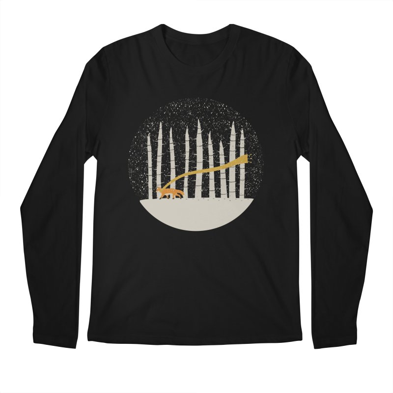 The Gold Scarf Men's Regular Longsleeve T-Shirt by coyotealert