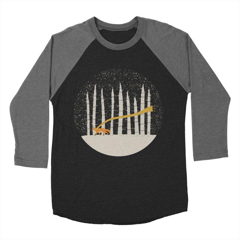 The Gold Scarf Men's Baseball Triblend Longsleeve T-Shirt by coyotealert