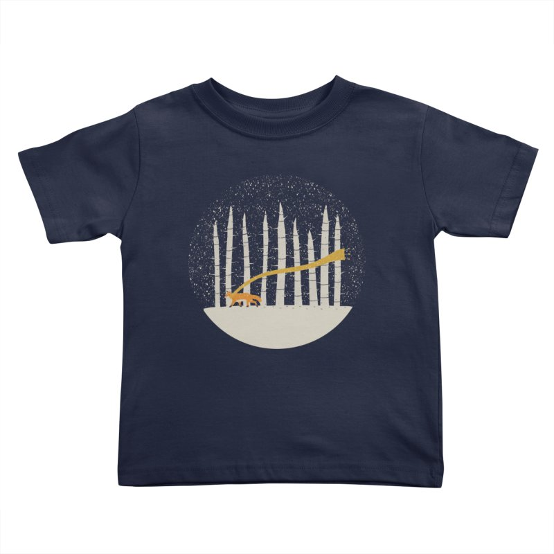 The Gold Scarf Kids Toddler T-Shirt by coyotealert