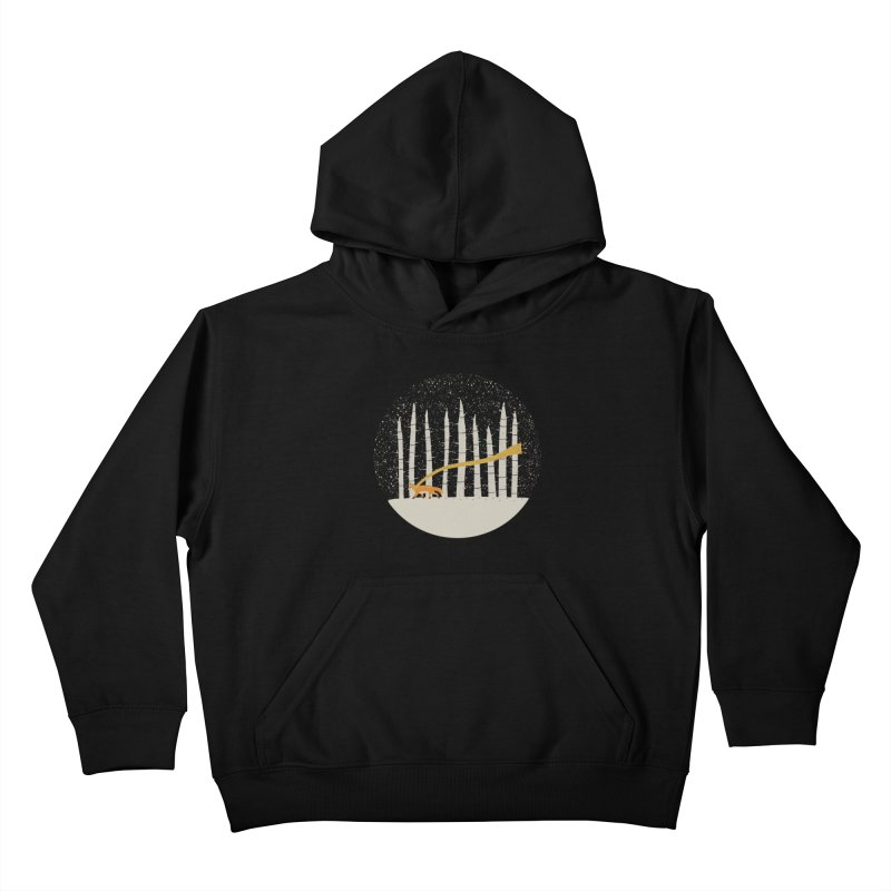 The Gold Scarf Kids Pullover Hoody by coyotealert