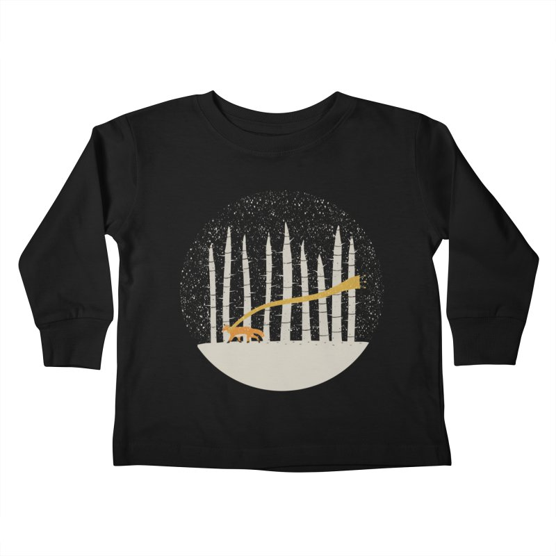 The Gold Scarf Kids Toddler Longsleeve T-Shirt by coyotealert