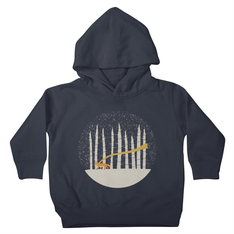 The Gold Scarf Kids Toddler Pullover Hoody by coyotealert