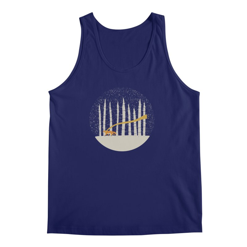 The Gold Scarf Men's Regular Tank by coyotealert