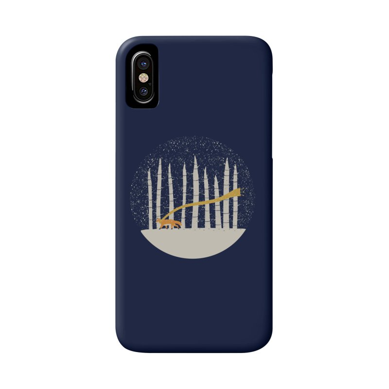 The Gold Scarf Accessories Phone Case by coyotealert