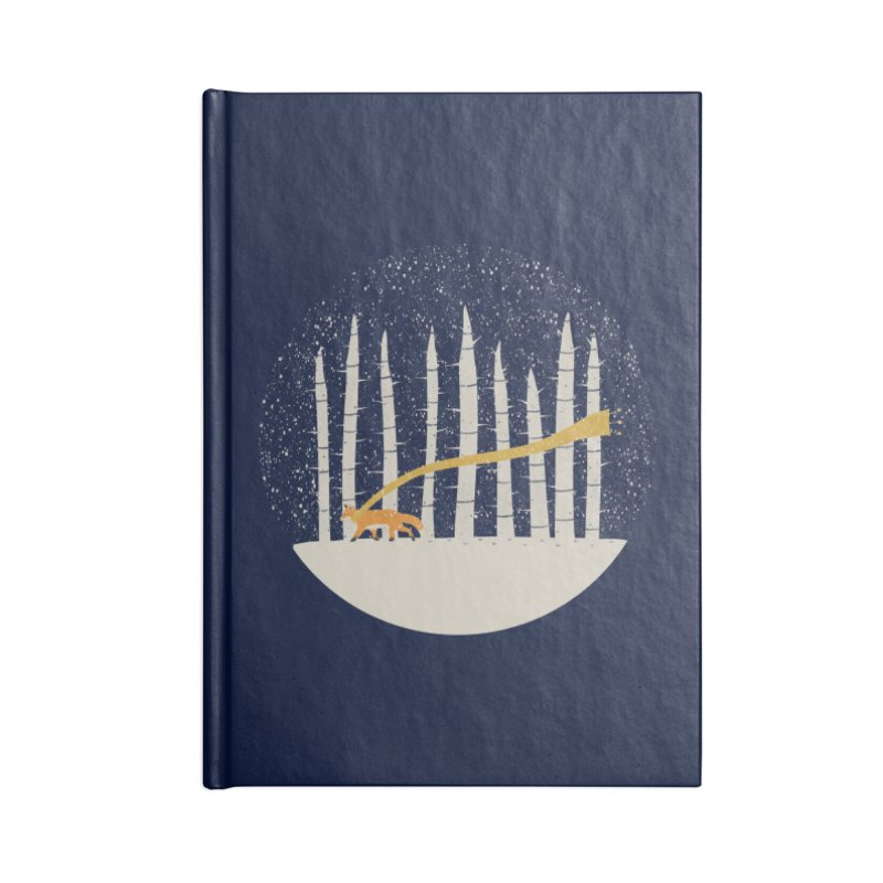 The Gold Scarf Accessories Blank Journal Notebook by coyotealert