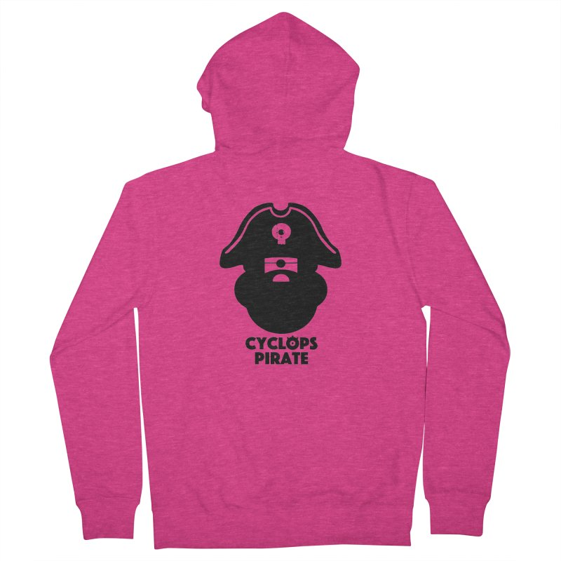 CYCLOPS PIRATE Women's French Terry Zip-Up Hoody by CYCLOPS PIRATE Artist Shop