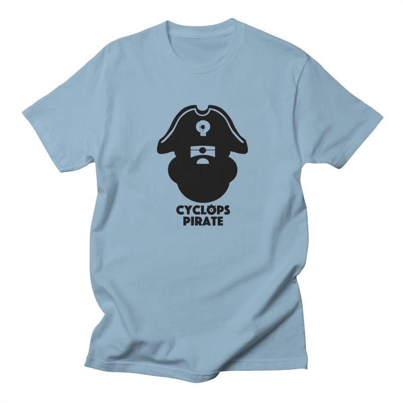 CYCLOPS PIRATE Men's T-shirt by CYCLOPS PIRATE Artist Shop