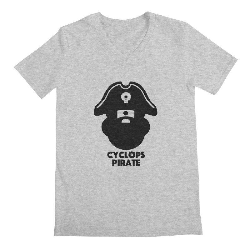 CYCLOPS PIRATE Men's V-Neck by CYCLOPS PIRATE Artist Shop