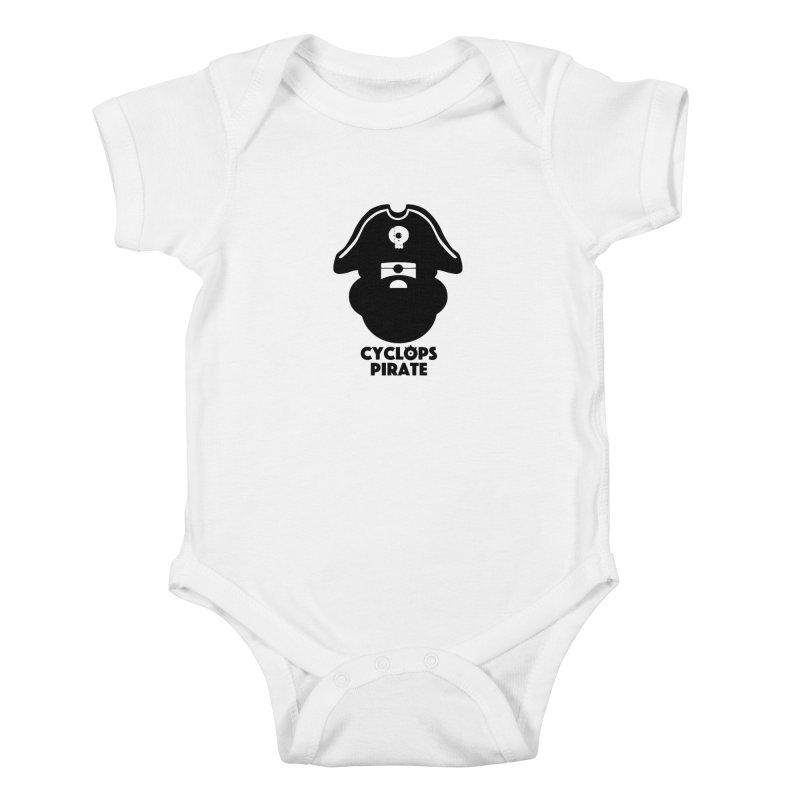 CYCLOPS PIRATE Kids Baby Bodysuit by CYCLOPS PIRATE Artist Shop
