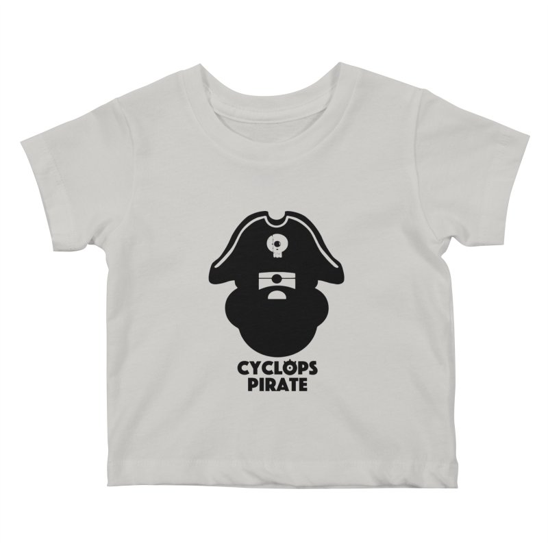CYCLOPS PIRATE Kids Baby T-Shirt by CYCLOPS PIRATE Artist Shop