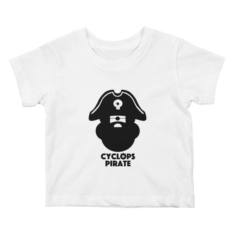 CYCLOPS PIRATE Kids Baby T-Shirt by CYCLOPS PIRATE Artist Shop