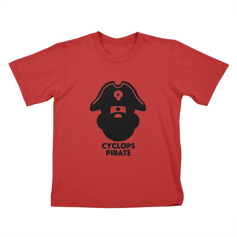 CYCLOPS PIRATE Kids T-Shirt by CYCLOPS PIRATE Artist Shop