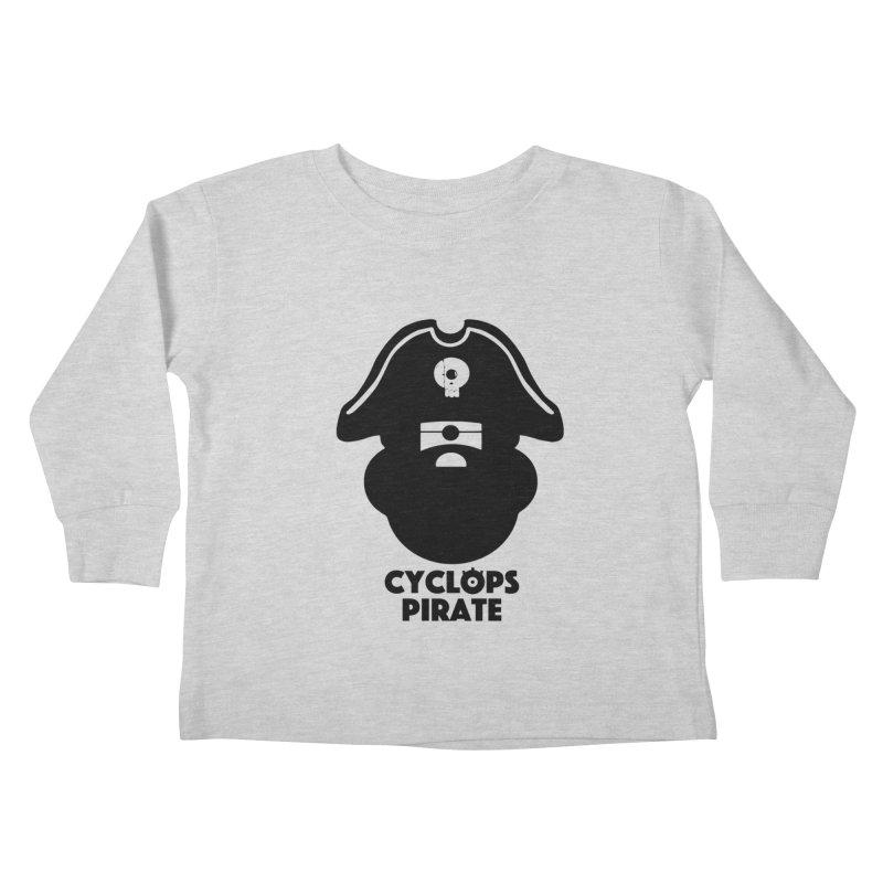 CYCLOPS PIRATE Kids Toddler Longsleeve T-Shirt by CYCLOPS PIRATE Artist Shop