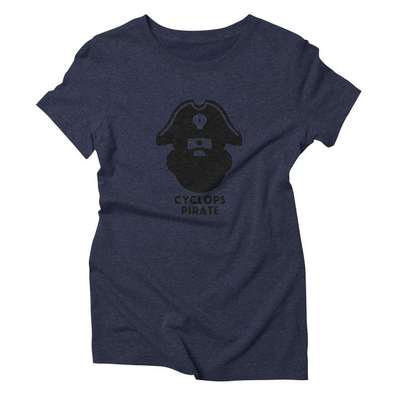 CYCLOPS PIRATE Women's Triblend T-shirt by CYCLOPS PIRATE Artist Shop