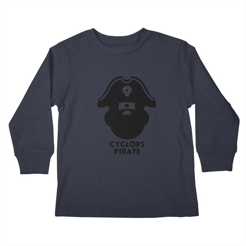 CYCLOPS PIRATE Kids Longsleeve T-Shirt by CYCLOPS PIRATE Artist Shop