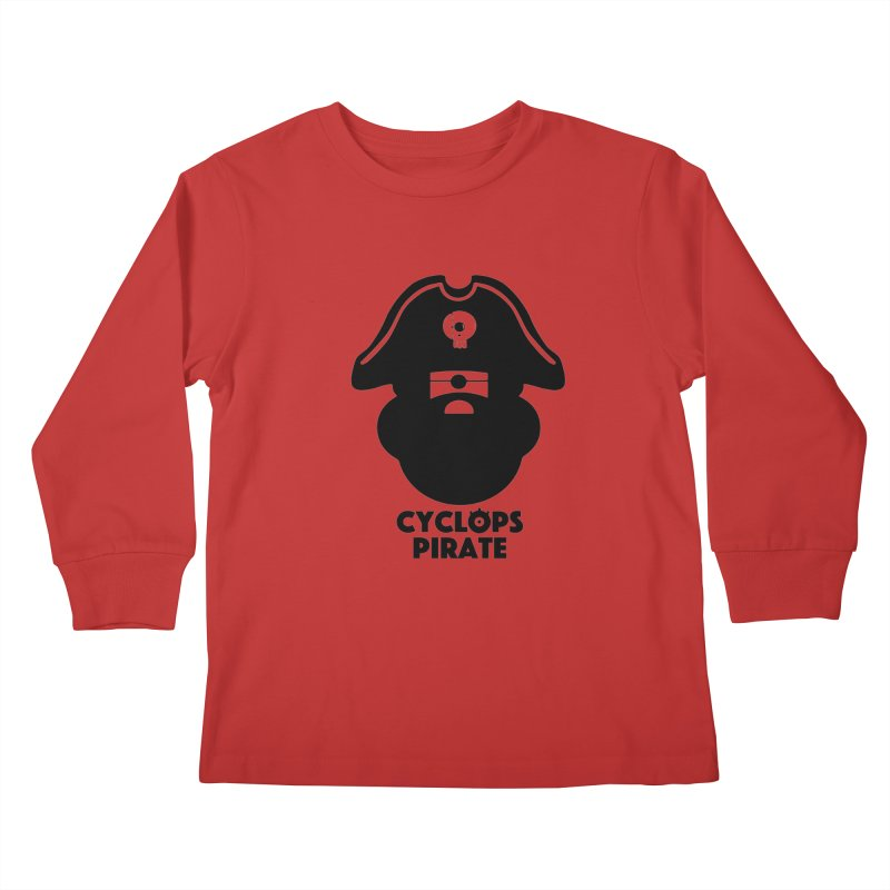 CYCLOPS PIRATE Kids Longsleeve T-Shirt by CYCLOPS PIRATE Artist Shop