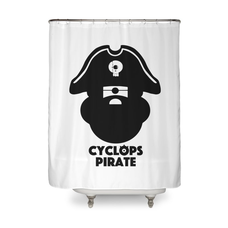 CYCLOPS PIRATE Home Shower Curtain by CYCLOPS PIRATE Artist Shop