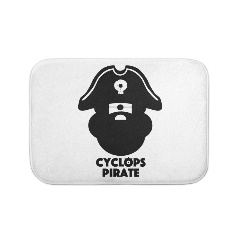 CYCLOPS PIRATE Home Bath Mat by CYCLOPS PIRATE Artist Shop