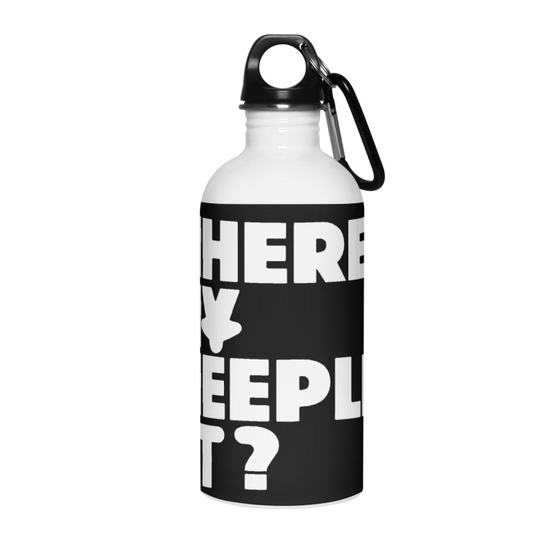 WHERE MY MEEPLES AT? Accessories Water Bottle by CYCLOPS PIRATE Artist Shop