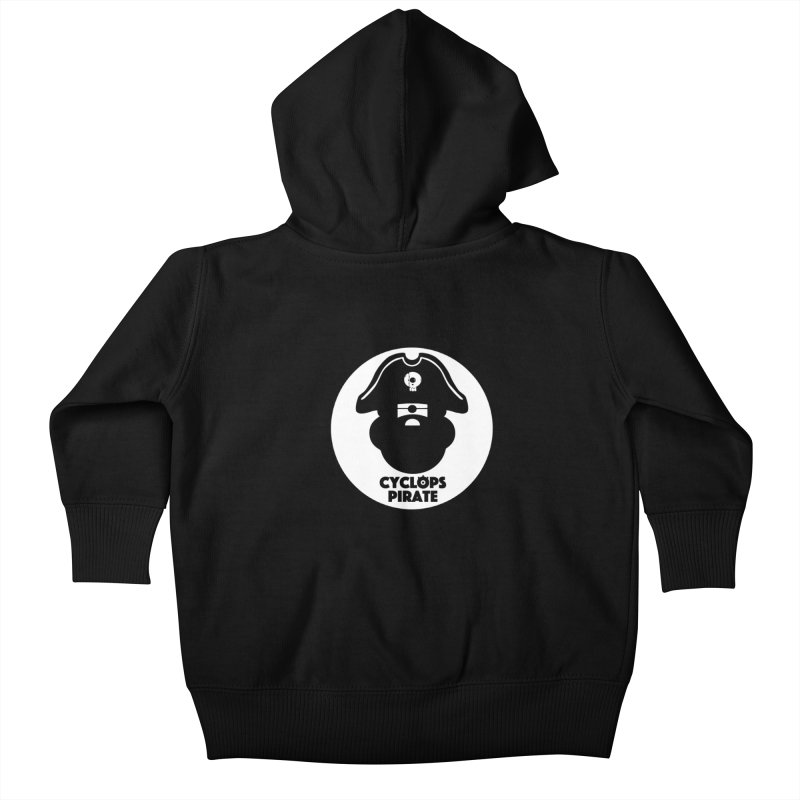 CYCLOPS PIRATE Kids Baby Zip-Up Hoody by CYCLOPS PIRATE Artist Shop