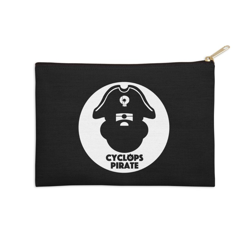 CYCLOPS PIRATE Accessories Zip Pouch by CYCLOPS PIRATE Artist Shop