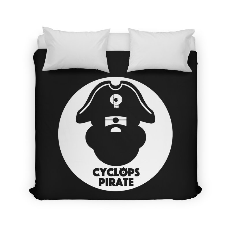 CYCLOPS PIRATE Home Duvet by CYCLOPS PIRATE Artist Shop