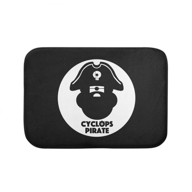 CYCLOPS PIRATE Home Bath Mat by CYCLOPS PIRATE Artist Shop