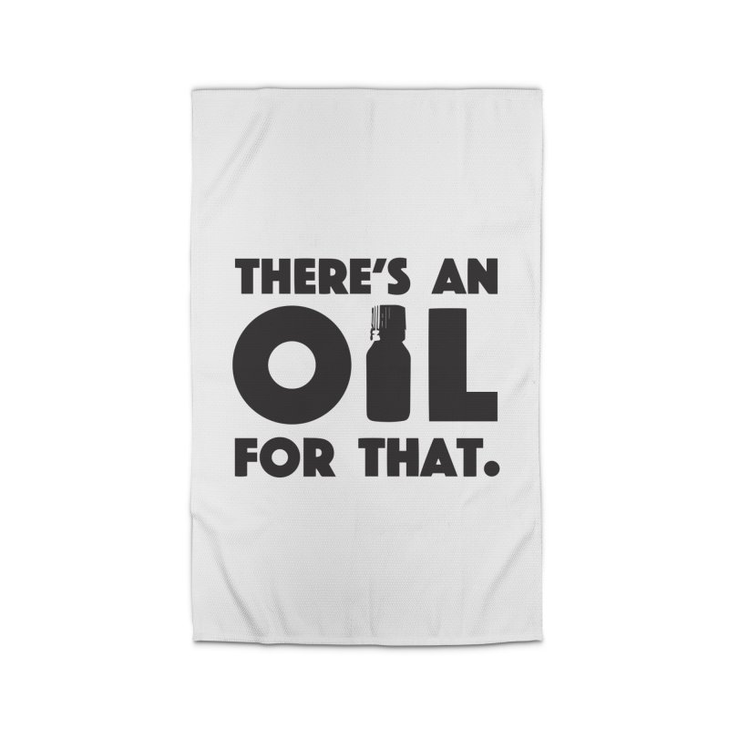 there's an oil for that Home Rug by CYCLOPS PIRATE Artist Shop