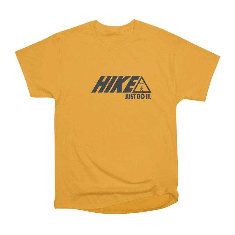 HIKE. JUST DO IT. Men's Classic T-Shirt by CYCLOPS PIRATE Artist Shop